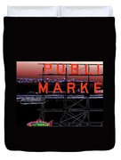 Market Ferry 2 Duvet Cover