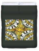Market Flowers Duvet Cover