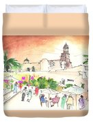 Market In Teguise In Lanzarote 02 Duvet Cover