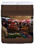 Market Duvet Cover