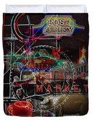 Market Medley Duvet Cover