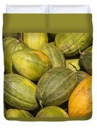 Market Melons Duvet Cover