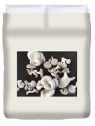 Market Mushrooms Duvet Cover