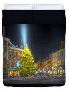 Market Square 025 Duvet Cover
