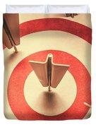Marketing Your Target Market Duvet Cover