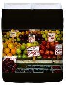 Marketplace Fruit Duvet Cover
