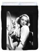 Marlene Dietrich Duvet Cover