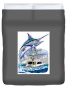 Marlin Commission  Duvet Cover
