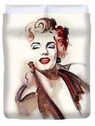 Marilyn Manroe Duvet Cover