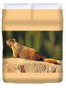 Marmot Life Duvet Cover