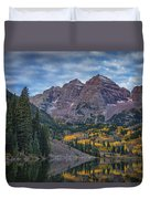 Maroon Bells Colorado Dsc06628 Duvet Cover