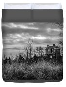 Marquette Harbor Lighthouse Duvet Cover