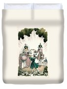 Marriage Of Candide Duvet Cover