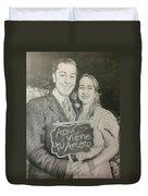 Marriage Portrait Duvet Cover