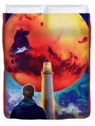 Mars Dreamer Duvet Cover