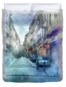 Marseille Back Street Duvet Cover