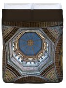 Marseille Cathedral St Mary Major Dome And Cupola Duvet Cover