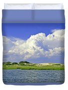 Marsh And Dunes Duvet Cover