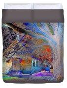 Marsh Berea Mb Church In Color Duvet Cover