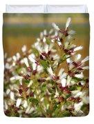 Marsh Blooms Duvet Cover