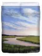 Marsh Blush Duvet Cover
