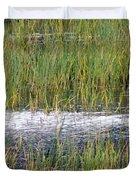 Marsh Grasses Duvet Cover