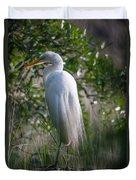 Marsh Heron Duvet Cover