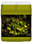Marsh Marigolds Duvet Cover