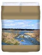 Marsh Spill Way Duvet Cover