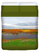 Marsh Spring Duvet Cover