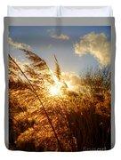 Marsh Sunset Duvet Cover