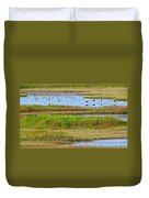 Marsh Tide Pool Duvet Cover