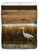 Marsh Wader Duvet Cover