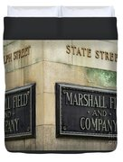 Marshal Field And Company Duvet Cover