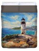 Marshal Point Light Duvet Cover