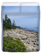 Marshall Ledge Looking Downeast Duvet Cover