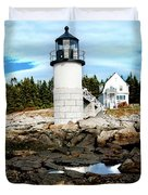 Marshall Point Reflection Duvet Cover