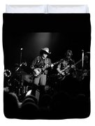 Marshall Tucker Winterland 1975 #12 Enhanced Bw Duvet Cover