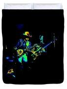 Marshall Tucker Winterland 1975 #14 Enhanced In Cosmicolors Duvet Cover