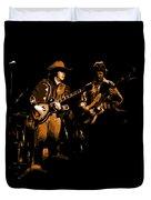 Marshall Tucker Winterland 1975 #17 Enhanced In Amber Duvet Cover