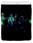 Marshall Tucker Winterland 1975 #18 Enhanced In Cosmicolors Duvet Cover
