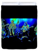 Marshall Tucker Winterland 1975 #18 In Special Cosmicolors Duvet Cover