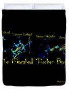 Marshall Tucker Winterland 1975 #19 Enhanced In Cosmicolors With Text Duvet Cover
