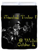 Marshall Tucker Winterland 1975 #3 Crop 2 With Text Duvet Cover