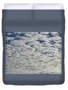 Marshmallow Sky Duvet Cover