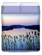 Marshy Twilight Duvet Cover
