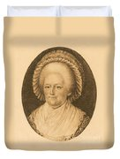 Martha Washington, American Patriot Duvet Cover