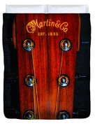 Martin And Co. Headstock Duvet Cover