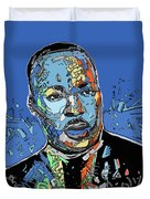 Martin Luther King Color Duvet Cover