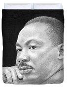 Martin Luther King, Jr Duvet Cover